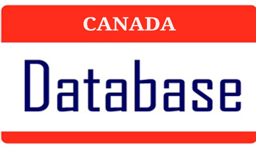 Canada email lists, Canada business databases, Canada consumer databases, Canada mobile databases, Canada business directory